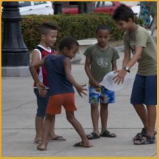 Cuba, boys, children, play